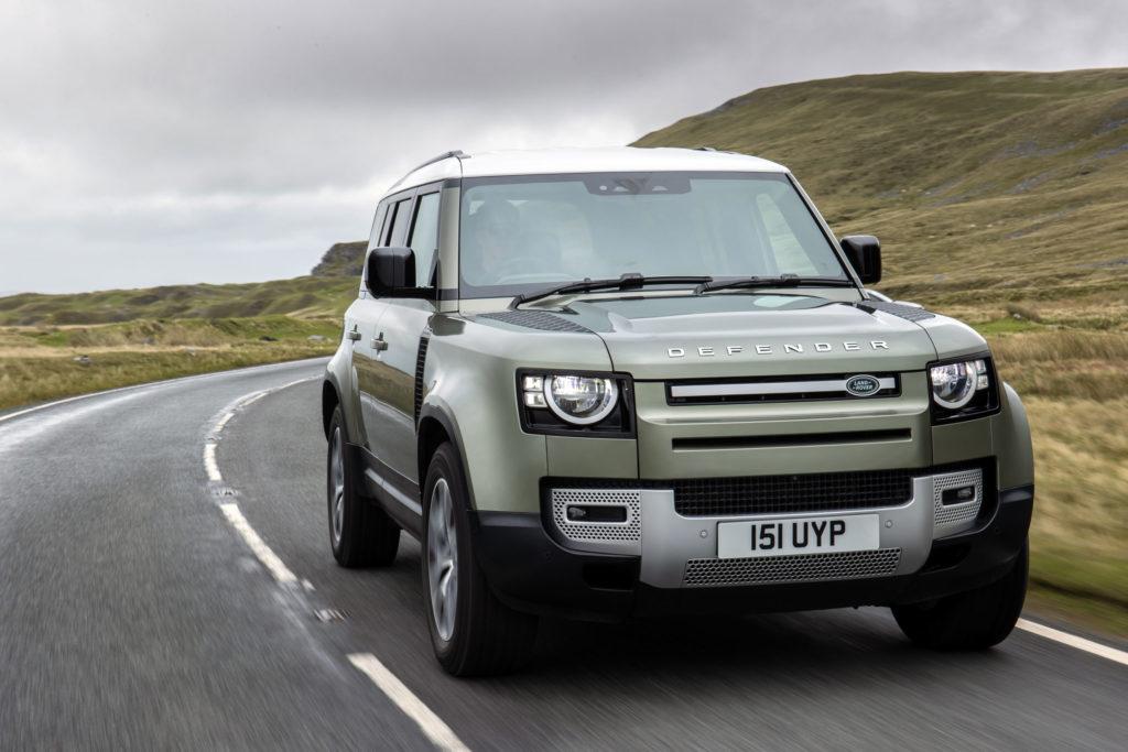 2021 Land Rover Defender / Brennstoffzelle | Fanaticar Magazin