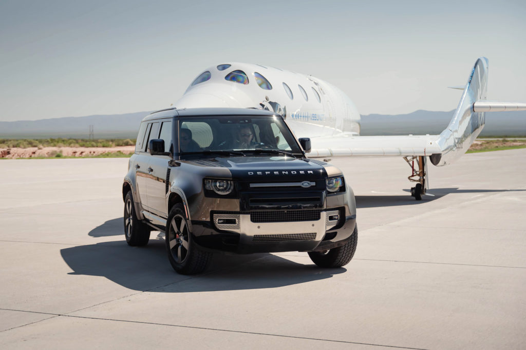 2021 Land Rover Defender 110 - Virgin Galatic - Unity | Fanaticar Magazin