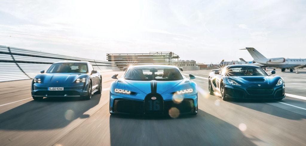 Bugatti, Porsche, Rimac - Joint Venture | Fanaticar Magazin