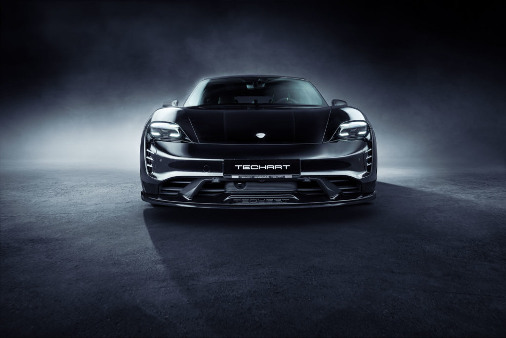 2021 Porsche Taycan - Techart Stylingpaket | Fanaticar Magazin
