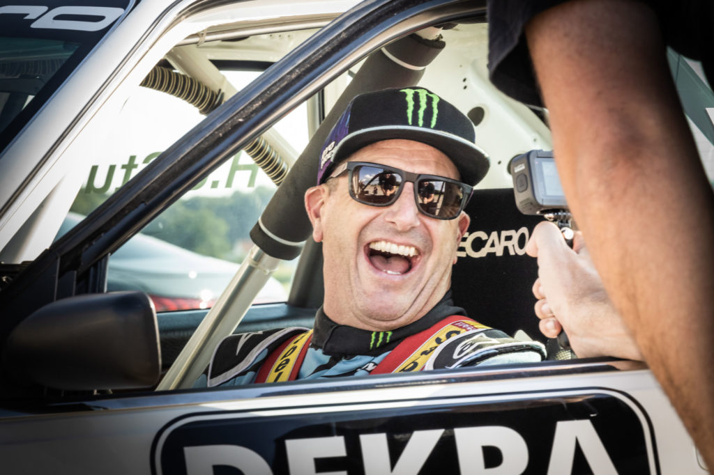 Ken Block, Audi V8 quattro (DTM)   Fanaticar Magazin