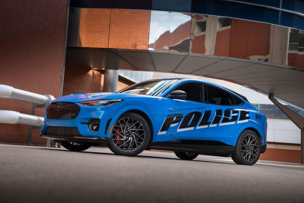 2021 Ford Mustang Mach-E US-Police Car   Fanaticar Magazin
