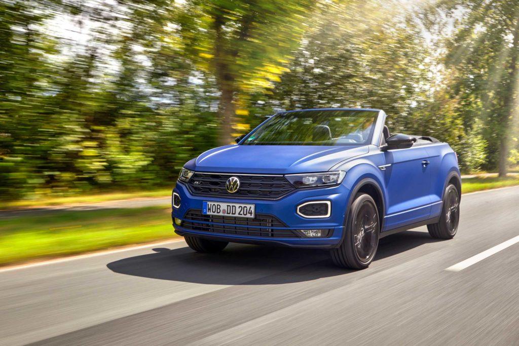 2021 Volkswagen T-Roc Cabriolet Edition Blue | Fanaticar Magazin