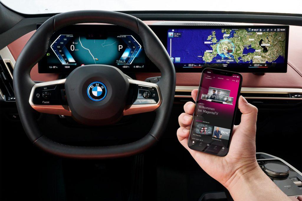 BMW iX mit 5G Technologie   Fanaticar Magazin