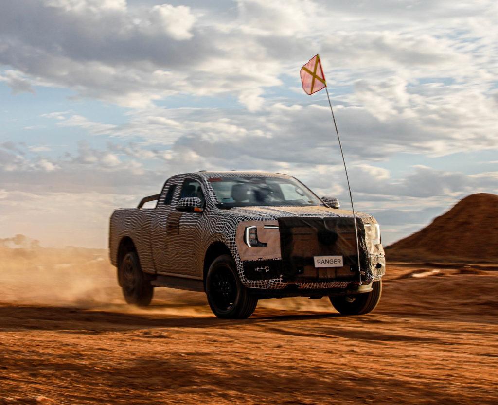 2022 Ford Ranger Erlkönig   Fanaticar Magazin